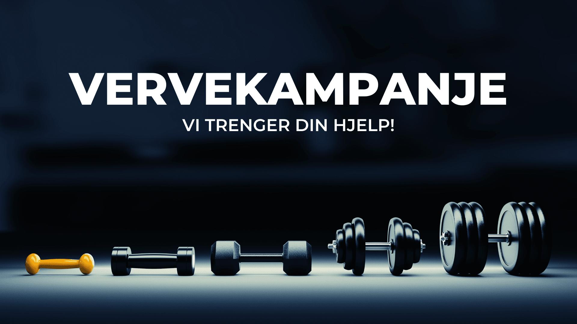 Vi trenger din hjelp! Vervekampanje for medlemmer